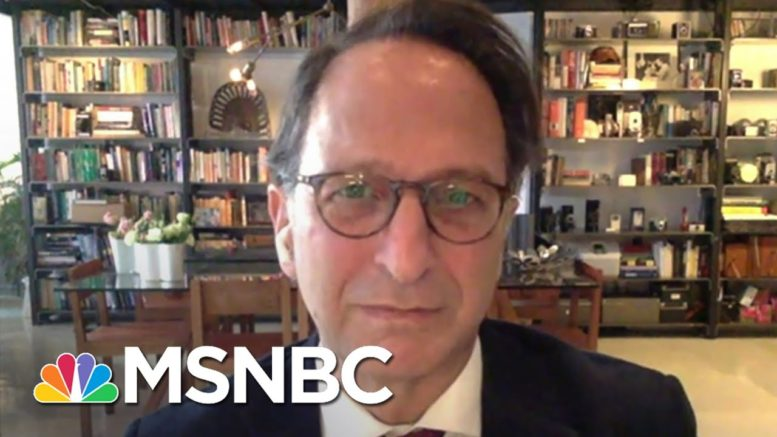 Weissman: 'It Was A Mistake Not To Have Gone Into His Finances More' | Stephanie Ruhle | MSNBC 1
