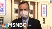 Tim Murtaugh Evades Multiple Questions On Trump Downplaying Covid-19 To Americans | Katy Tur | MSNBC 3