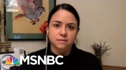 Kristin Urquiza: COVID Victims Like My Dad 'Led To Their Graves' By Trump | Hallie Jackson | MSNBC 4