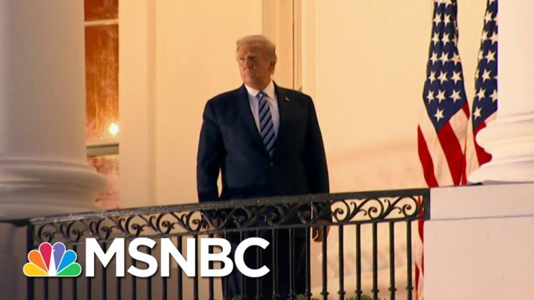 Fmr. RNC Chairman: Trump 'Is The Problem In The WH, And Everyone Wants To Tip-Toe Around It'   MSNBC 1