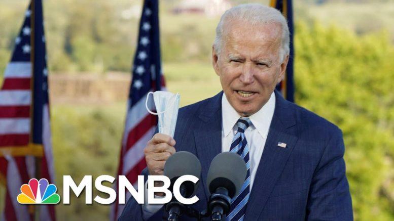 Biden On Covid: 'It's A Virus, It's Not A Political Weapon' | MSNBC 1