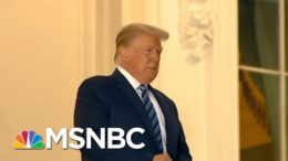 Trump Is The Danger: Trump Endangers Staff And Takes 'Sick Joy Ride' After Getting Covid-19 | MSNBC 3