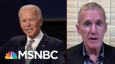 Gen. McChrystal Endorses Joe Biden For President | Morning Joe | MSNBC 6