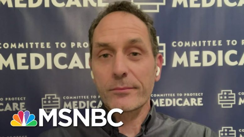 ER Doc Who Called Out Trump Says He's Making Things Worse   The 11th Hour   MSNBC 1