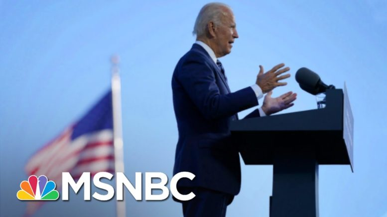 Biden Calls For National Unity In His Own Gettysburg Address | The 11th Hour | MSNBC 1
