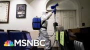 Covid-Infected Trump Attacks On Twitter As WH Outbreak Spreads | The 11th Hour | MSNBC 3