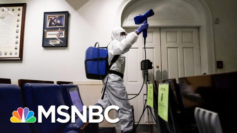 Covid-Infected Trump Attacks On Twitter As WH Outbreak Spreads | The 11th Hour | MSNBC 1