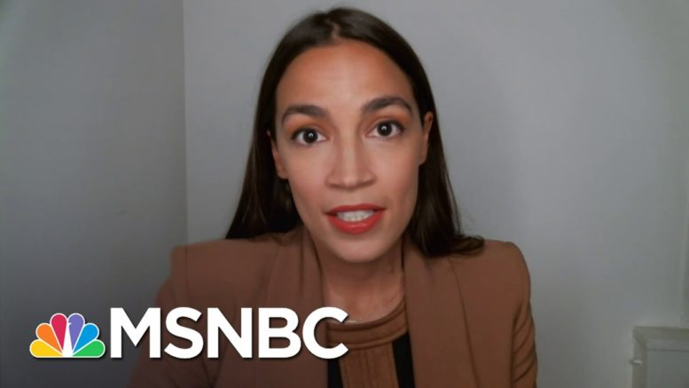 Rep. Ocasio-Cortez Warns Of Severe Fallout As Trump Rejects New Covid Relief | Rachel Maddow | MSNBC 1