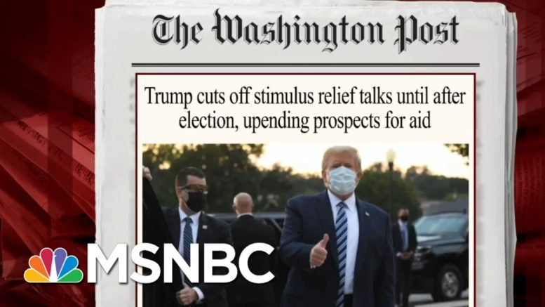 Senator Points To Difficulties In Negotiating With Trump On Relief | Morning Joe | MSNBC 1