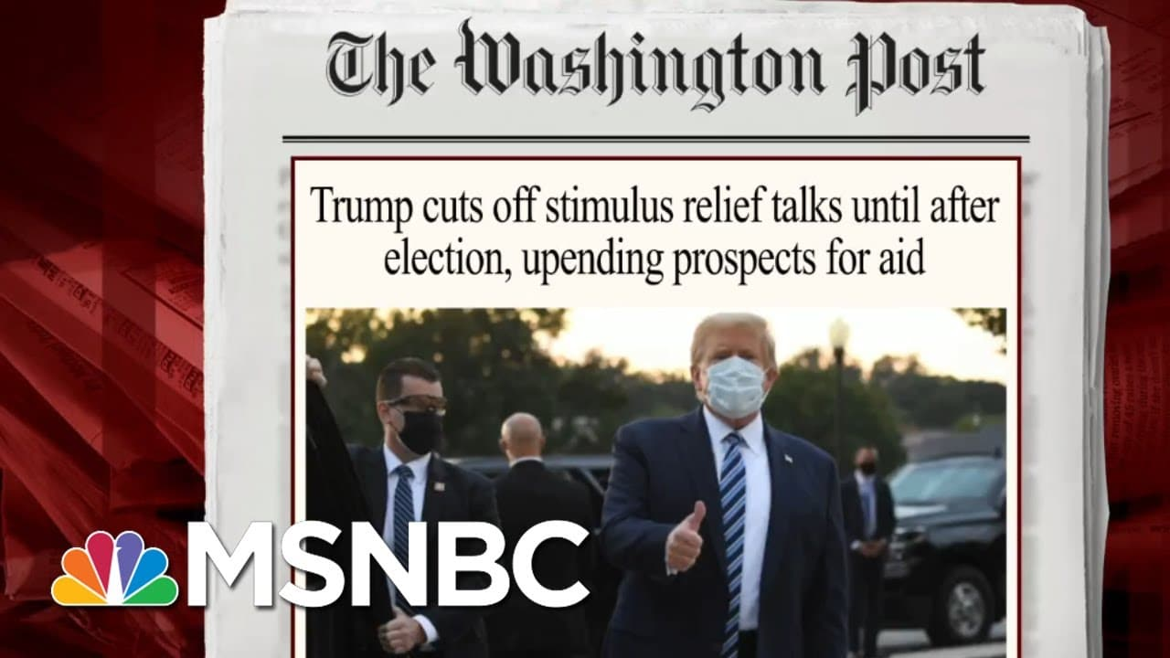 Senator Points To Difficulties In Negotiating With Trump On Relief   Morning Joe   MSNBC 6