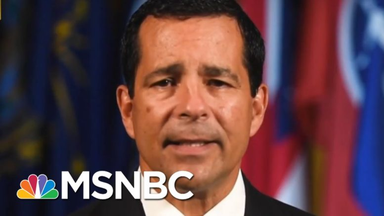 US Intelligence Leaders Issue Joint Warning On Election Security | MTP Daily | MSNBC 1