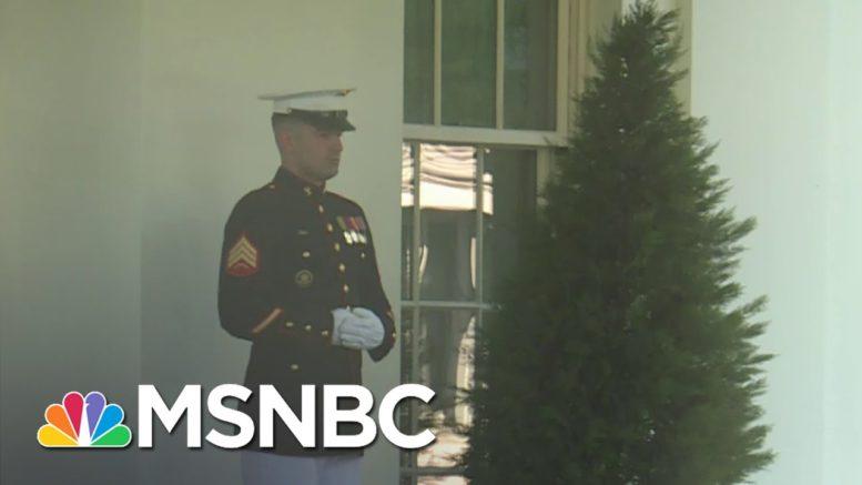 President Donald Trump Enters Oval Office, Breaking Coronavirus Isolation | Deadline | MSNBC 1