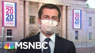 Pete Buttigieg On Helping Kamala Harris Prepare For The VP Debate | MSNBC 6