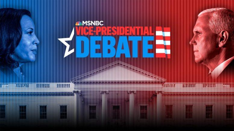 Watch: 2020 Vice Presidential Debate Between Mike Pence, Kamala Harris | MSNBC 1