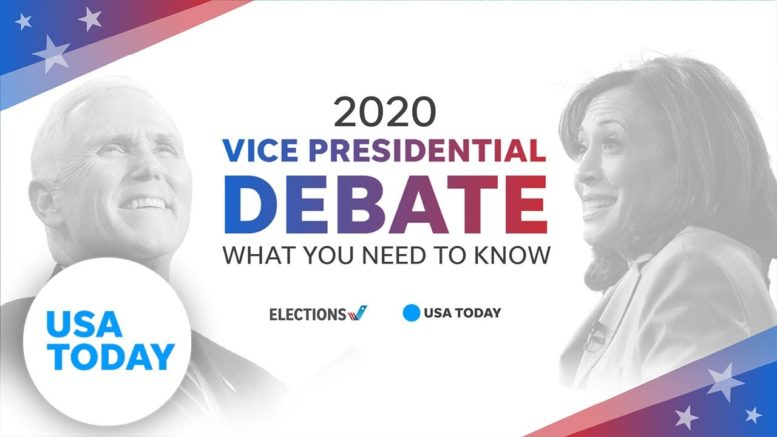 Vice Presidential Debate: Top issues to know before Pence and Harris take the stage   USA TODAY 1