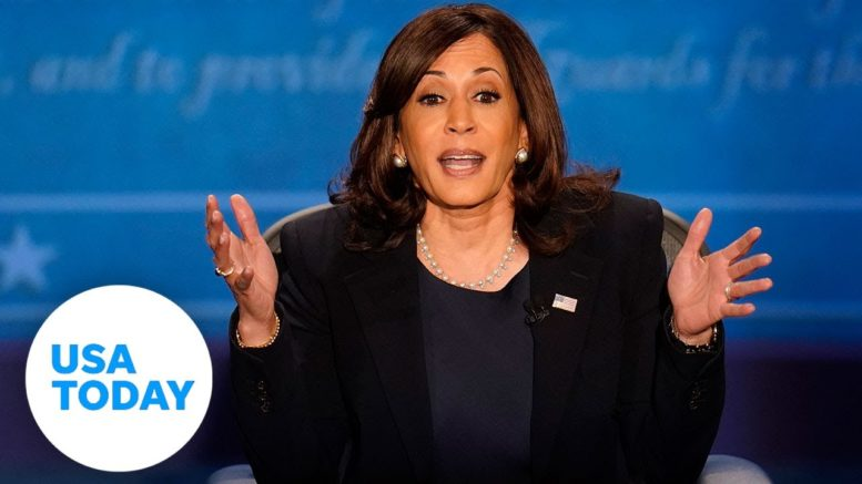 VP debate: Kamala Harris says she would not take a Trump recommended vaccine   USA TODAY 1