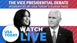Vice Presidential Debate 2020 LIVE: Mike Pence and Kamala Harris face off in SLC | USA TODAY 6