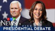 Watch the full U.S. vice-presidential debate between Mike Pence and Kamala Harris 2