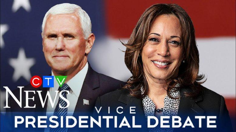 Watch the full U.S. vice-presidential debate between Mike Pence and Kamala Harris 1