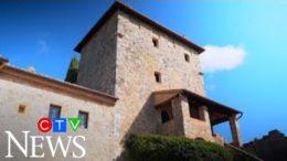 Italian castle converted into luxury villa 5