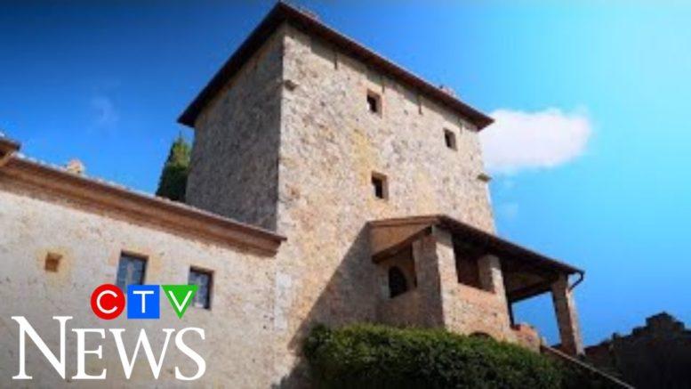 Italian castle converted into luxury villa 1