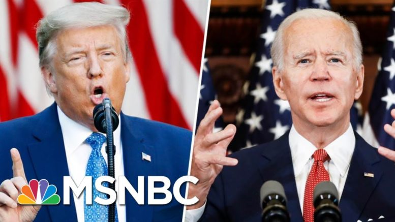 Biden Outspending Trump On Airwaves In Battleground States | MTP Daily | MSNBC 1