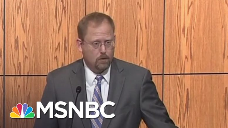 U.S. Attorney Details How Group Conspired To Kidnap Michigan Gov. Whitmer   MSNBC 1