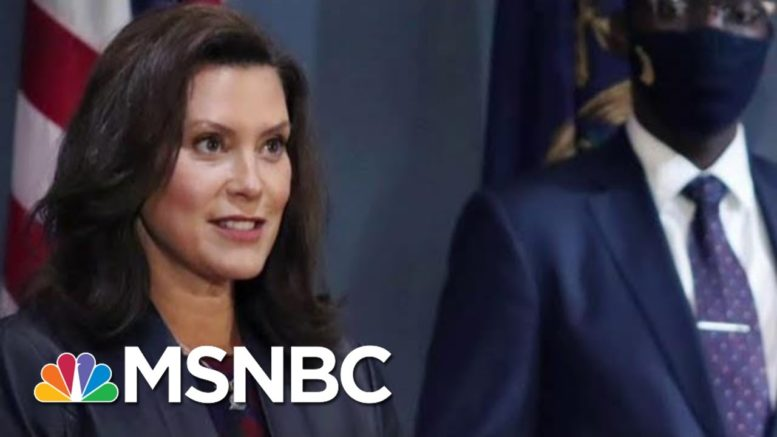 US Attorney: Group Conspired To Kidnap Michigan Gov. Whitmer Before Election | MTP Daily | MSNBC 1