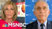 Dr. Fauci: 'No Doubt' Coronavirus Far More Serious Than Seasonal Flu | Andrea Mitchell | MSNBC 4