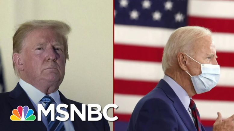 Trump Finds Himself Boxed In By His Own Disregard For Public Health And Safety | Deadline | MSNBC 1