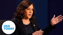 VP Debate 2020: Kamala Harris and Mike Pence joust over Supreme Court justices | USA TODAY 9