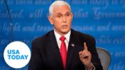 VP debate: Harris and Pence talk Trump's take on white supremacists | USA TODAY 2