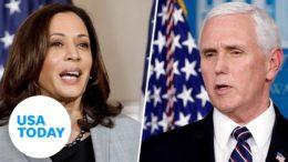 Who won the VP debate between VP Mike Pence and Sen. Kamala Harris? | USA TODAY 5
