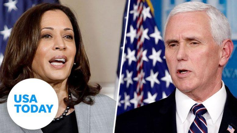 Who won the VP debate between VP Mike Pence and Sen. Kamala Harris? | USA TODAY 1