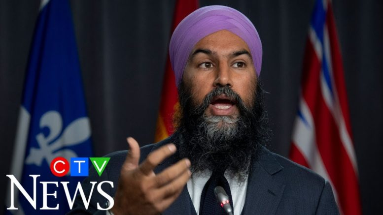Jagmeet Singh wants tax on businesses profiting off COVID-19 1