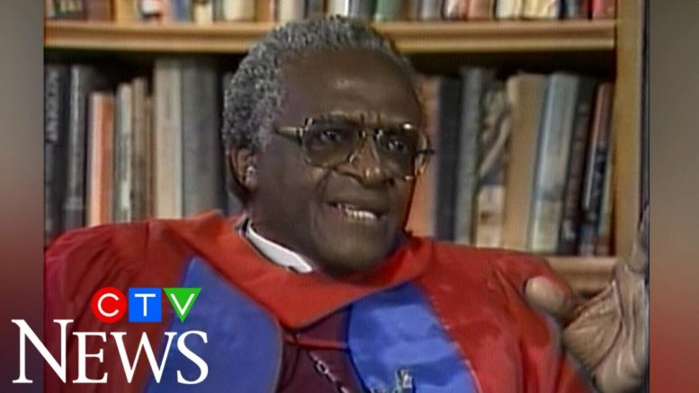 One-on-one with Archbishop Desmond Tutu in 1988 1