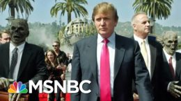 Lincoln Project Mocks Trump With Fake Retro Ad Pushing Covid Drug | The 11th Hour | MSNBC 9