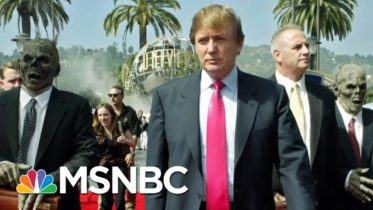 Lincoln Project Mocks Trump With Fake Retro Ad Pushing Covid Drug   The 11th Hour   MSNBC 6