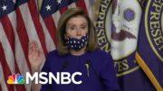 Pelosi Introduces Legislation Related To The 25th Amendment | Hallie Jackson | MSNBC 3