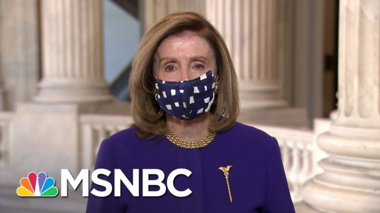 Pelosi: Legislation On 25th Amendment Is About 'Continuity Of Government,' Not Trump   MSNBC 1