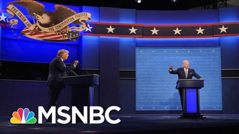 Pres. Debate In Miami Canceled After Trump Refuses To Participate Virtually | The ReidOut | MSNBC 1