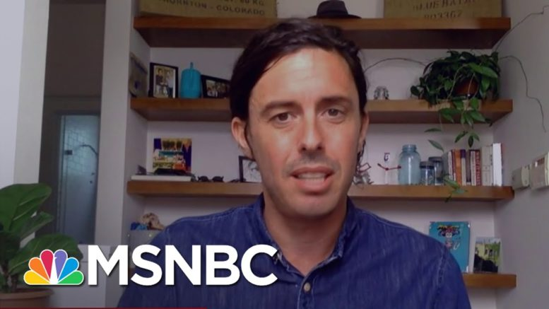 Tim Miller Is 'Sick And Tired' Of Those Expressing Unease About Trump Privately   Deadline   MSNBC 1