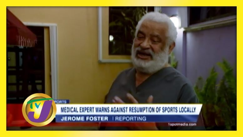 Medical Expert Warns Against Resumption of Sports Locally - October 8 2020 1