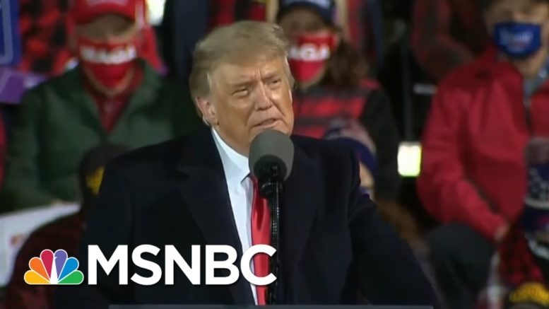 Belcher On The President's Message: 'Without Racism, The Emperor Has No Clothes' | Deadline | MSNBC 1