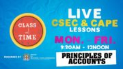 CSEC Principles of Accounts 10:35AM-11:10AM | Educating a Nation - October 9 2020 2