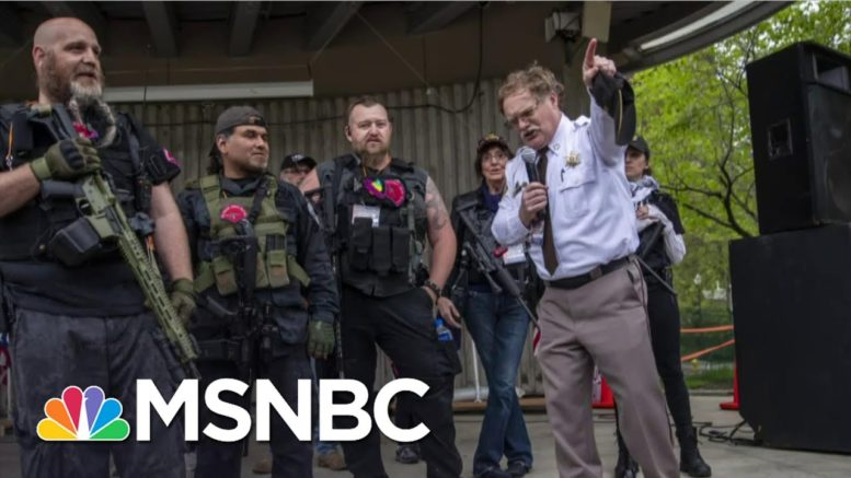 Militia Expert: Trump's Comments Were Call To Arms To White Power Extremists | The Last Word | MSNBC 1