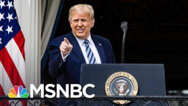 Trump Holds Campaign Event At White House Despite Coronavirus Outbreak   MSNBC 6