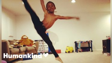 8-year-old choreographs his own ballet | Militarykind 6