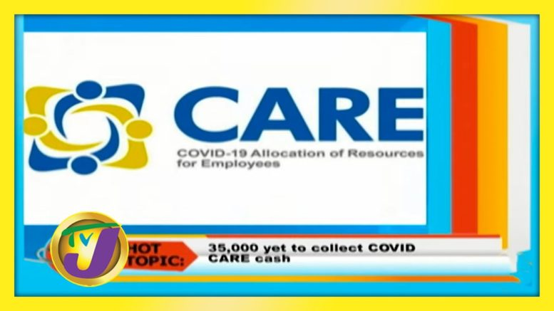 35,000 Yet to Collect Care Cash: October 9 2020 1