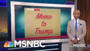 Memo To Trump: 'You Are Uninterested In Actual Peace' | PoliticsNation | MSNBC 4